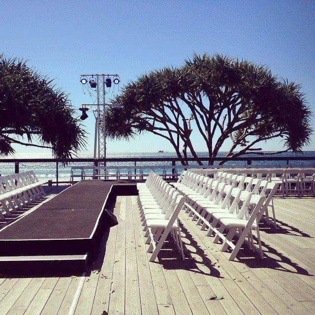 Perfect day for an outdoor fashion festival  #bbiff #fashionfestival #outdoor #event
