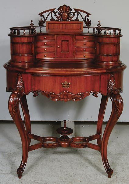Victorian Oval Writing Desk - 643 Best Antique Furniture Images On Pinterest Antique Furniture