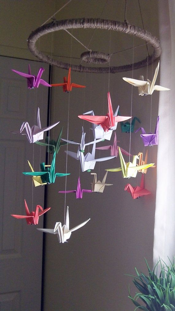 25 Unique Origami Paper Crane Ideas On Pinterest