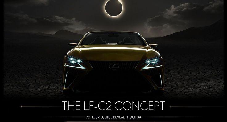 The Convertible concept of Lexus LF-C2 got teased again