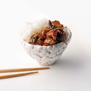You dont have to visit Beijing to taste its food. Sydney-based chef Kylie Kwongs cookbook-cum-travelogue, My China, offers recipes from the capital like this homestyle dish, whose mosaic of sweet-sour flavors belies its few ingredients.