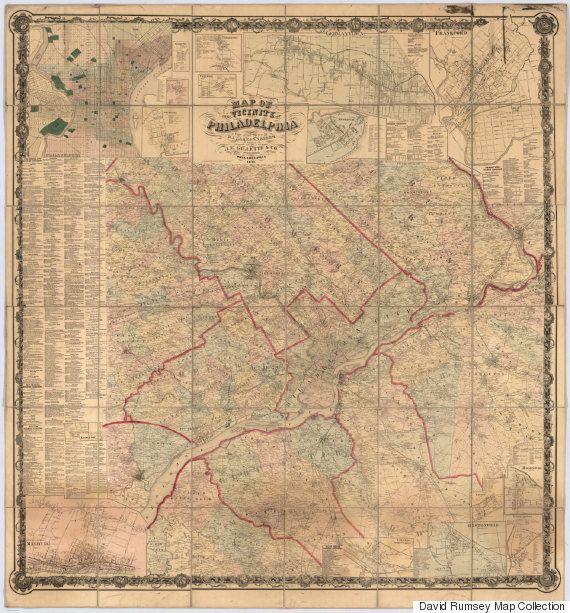Πλέον, μπορείτε να «κατεβάσετε» δωρεάν πάνω από 71.000 ιστορικούς χάρτες