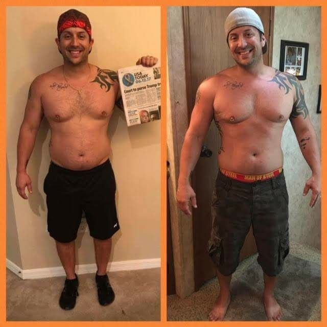 My name is Jason, from Fort Myers, FL, and I am going to keep it 100% real, anyone who knows me, knows I don't sugar coat. This is my 30 day results (6/12/17- 7/12/17) adding DFT DUO to my Thrive Experience.   What's insane is I only worked out for the first 2 weeks, flew out of the country for 4 days to Toronto, took the family camping at Disney for 3 days, and been traveling all this week .. usually on vacations I GAIN weight. I've been on 3 vacations this month and have LOST inches lol…