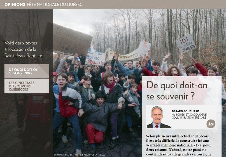 Fête nationale du Québec - La Presse+