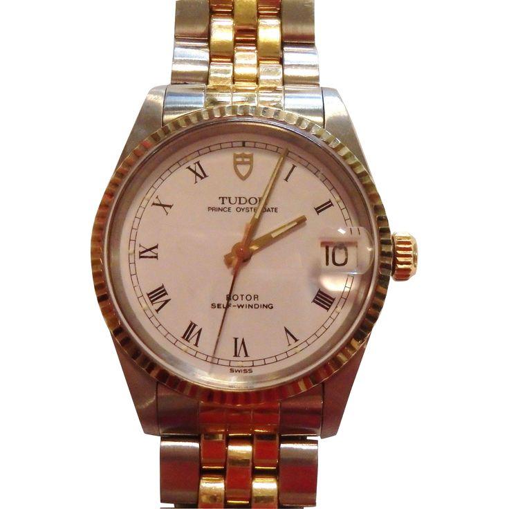Vintage Rolex Tudor Prince Oysterdate Self Winding Wrist Watch