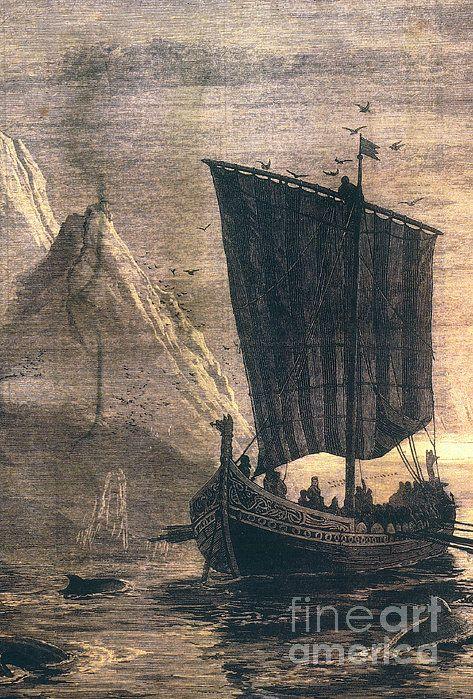 48 best viking images on pinterest vikings antiquities and norwegian viking longship art decor fandeluxe Image collections