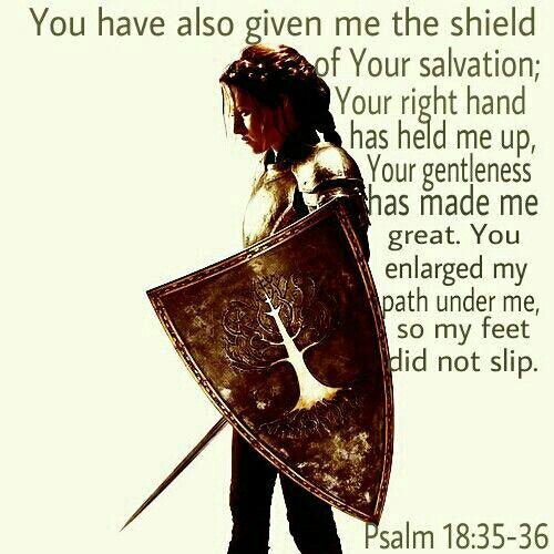 Psalm 18:35-36
