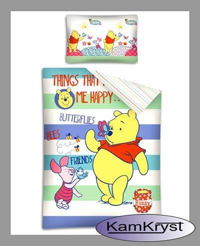 Bawełniana pościel dla niemowląt z certyfikatem jakości Tekstylia Godne Zaufania - pościel do łóżeczka 100% bawełna produkt firy Detexpol.