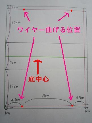 ワイヤーポーチの作り方です  ワイヤーポーチとかワイヤー入りポーチとか言ってますが・・・ コレ何か名前あるんですかねぇ~???  がっぽり開いて...