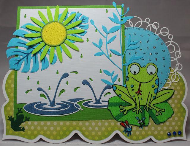 Les cartes de Blueberry: C'est la fête à la grenouille