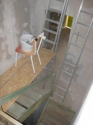 peindre une cage d'escaliers