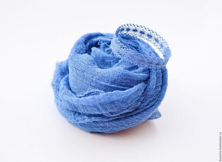 Купить Кружевная корона для новорожденных + обмотка синий - синий, корона, корона для фотосессии