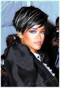 Groovy 1000 Ideas About Rihanna Short Haircut On Pinterest Black Bob Short Hairstyles For Black Women Fulllsitofus
