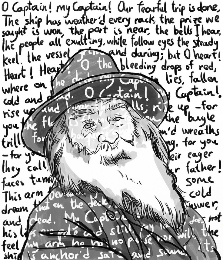 walt whitman style of writing This poem will be graded as a quiz grade poetry assignment write a poem in which you imagine many people in different places engaged in activities all at the same.