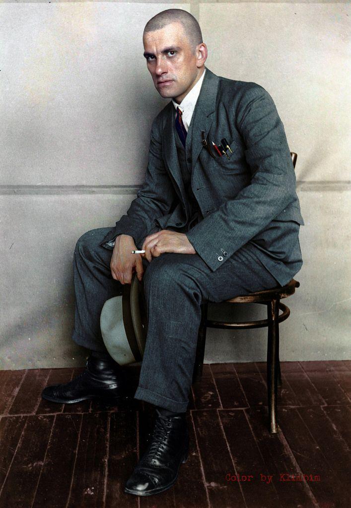 https://flic.kr/p/PK9XXd | Vladimir Mayakovsky | Владимир Маяковский, 1924 | Photo: Alexander Rodchenko Фото: Александр Родченко