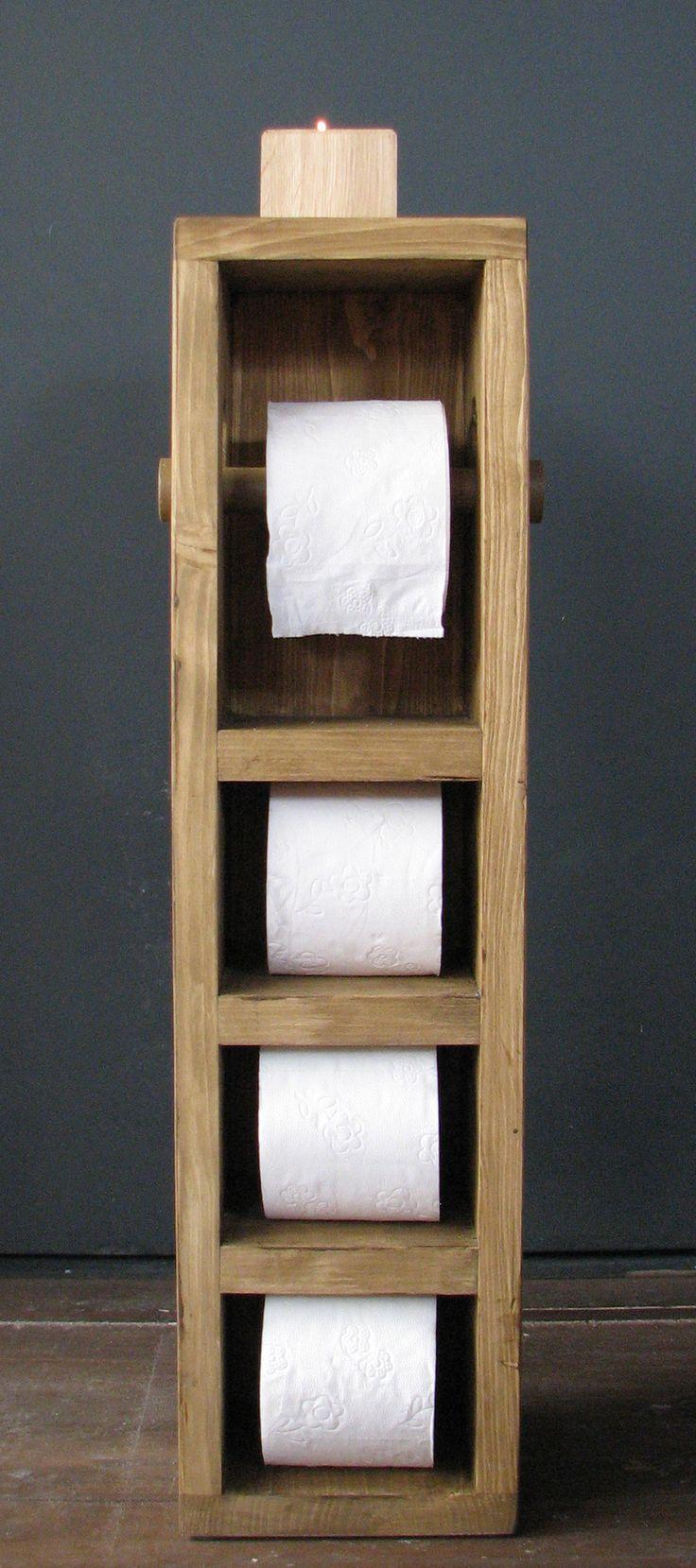 Toiletpapierhouder staand