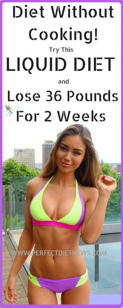 Diet Without Cooking! Try This Liquid Diet And Lose 36 Pounds For Two Weeks | Fitness Blog