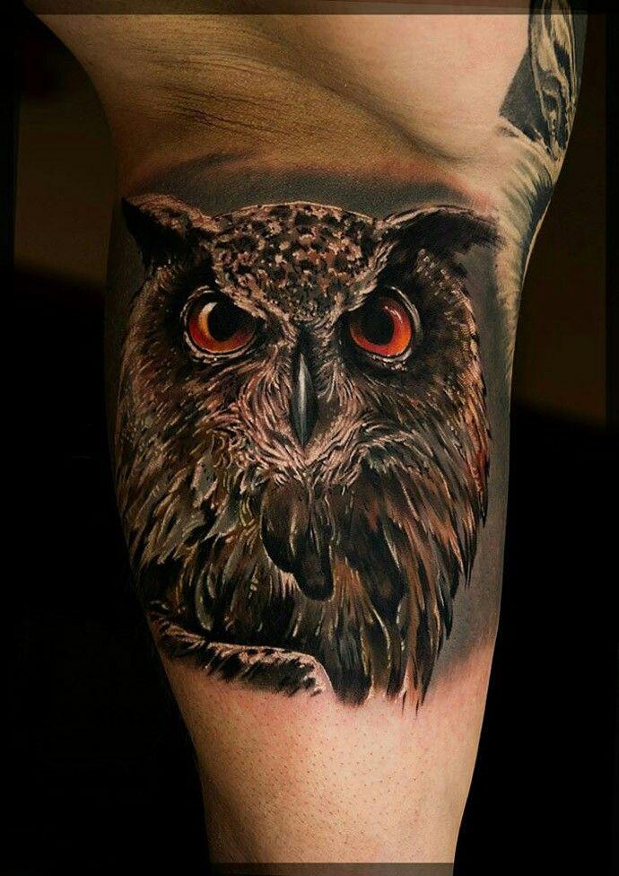 Pin by Nuki Mo on Artsy Fartsy | Mens owl tattoo, Owl ...