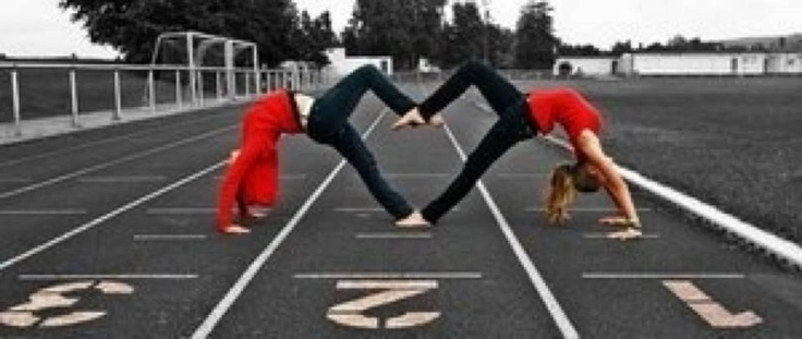 Heart backbend! This is so cool! We so should have done this, @Alisha Sopota!