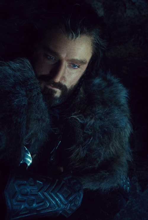 Thorin Oakenshield played by the actor Richard Armitage.. have u ever seen such a transformation from spooks to this! haha