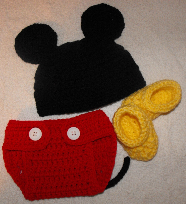 Free Crochet Pattern For Newborn Minnie Mouse Booties Joy Studio
