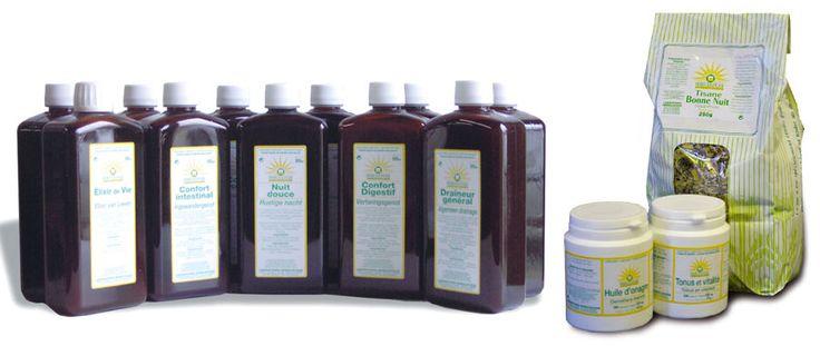 """produits du laboratoire Herbolistique : Cure de """"Cartilage"""" & fois par an 2 gel/jr et pour douleurs règles Huile d'Onagre (3 gelules *2 de j-6 à J+1)"""