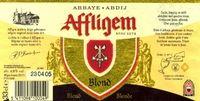 Affligem Blond Sterkte : 6,8 % Een goudblond abdijbier, laat zich gemakkelijk drinken, met een zachte, hoppige, bitterige smaak.