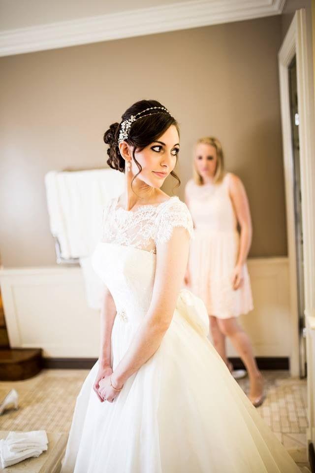 Amazing dress & head piece