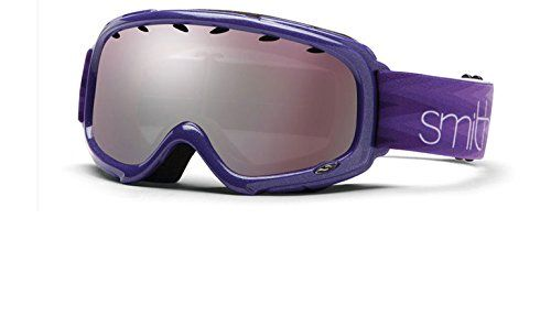 Smith Goggles 8DH Purple Gambler Air Goggles Lens Mirrored. Sunglasses.