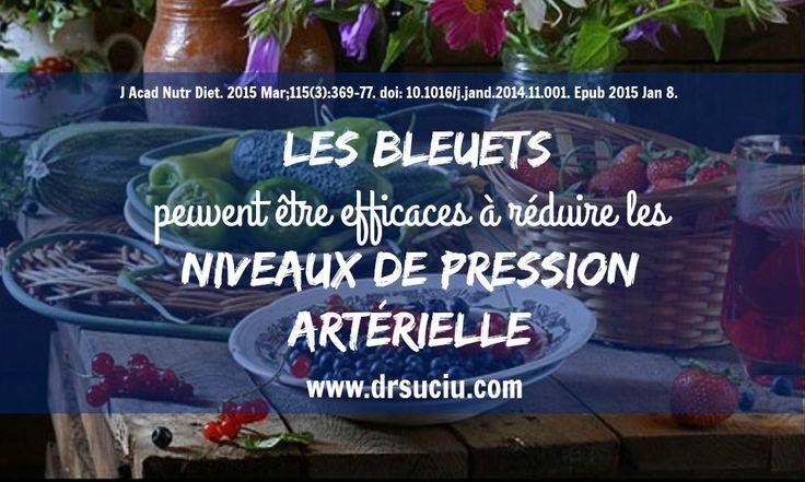 Les bleuets et l'hypertension artérielle - drsuciu