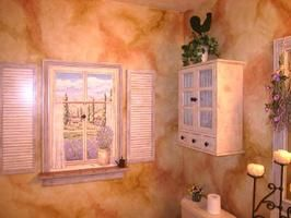 How to Create a Tuscan Bath Retreat : Rooms : Home & Garden Television