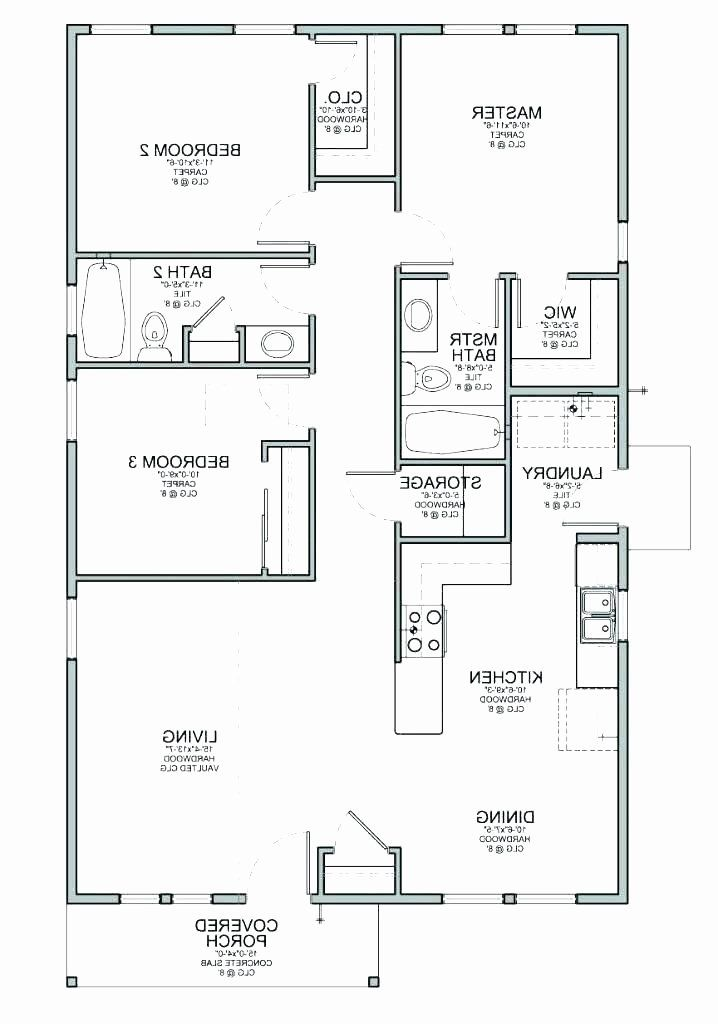 Tiny House Plans 3 Bedroom New Floor Plans For Small Houses With 3 Bedrooms Calebdecor In 2020 Bungalow Floor Plans Bedroom House Plans Three Bedroom House Plan