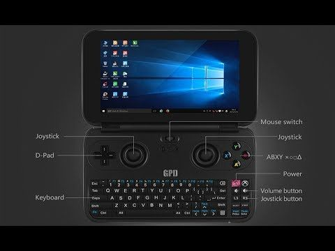 GPD WIN PC Game Tablet 5.5 inch Windows 10