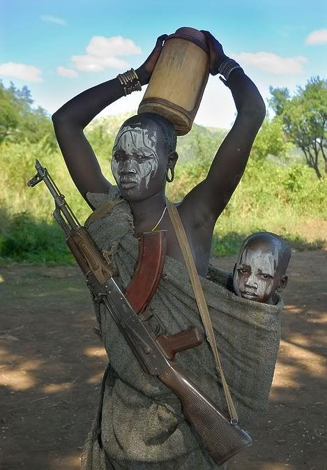wild african girls pics