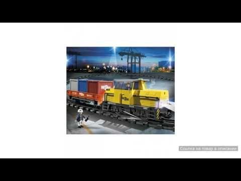 Грузовой поезд с контейнерами Playmobil (Плеймобил)