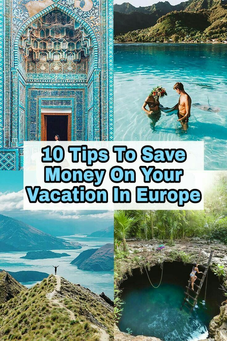10 Tips to save money on your vacation in EUROPE 💸💸