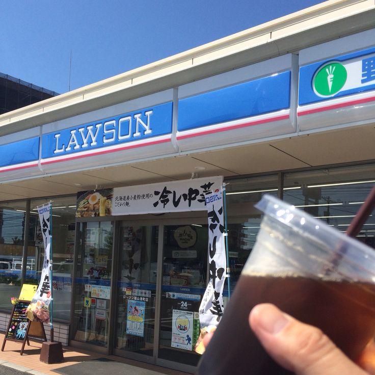 ローソン福山港町店・アイスコーヒー