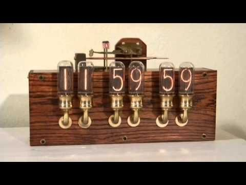 I must have a steampunk nixie clock! MUST, I say! -Nixie Clock with Real Westminster Chimes
