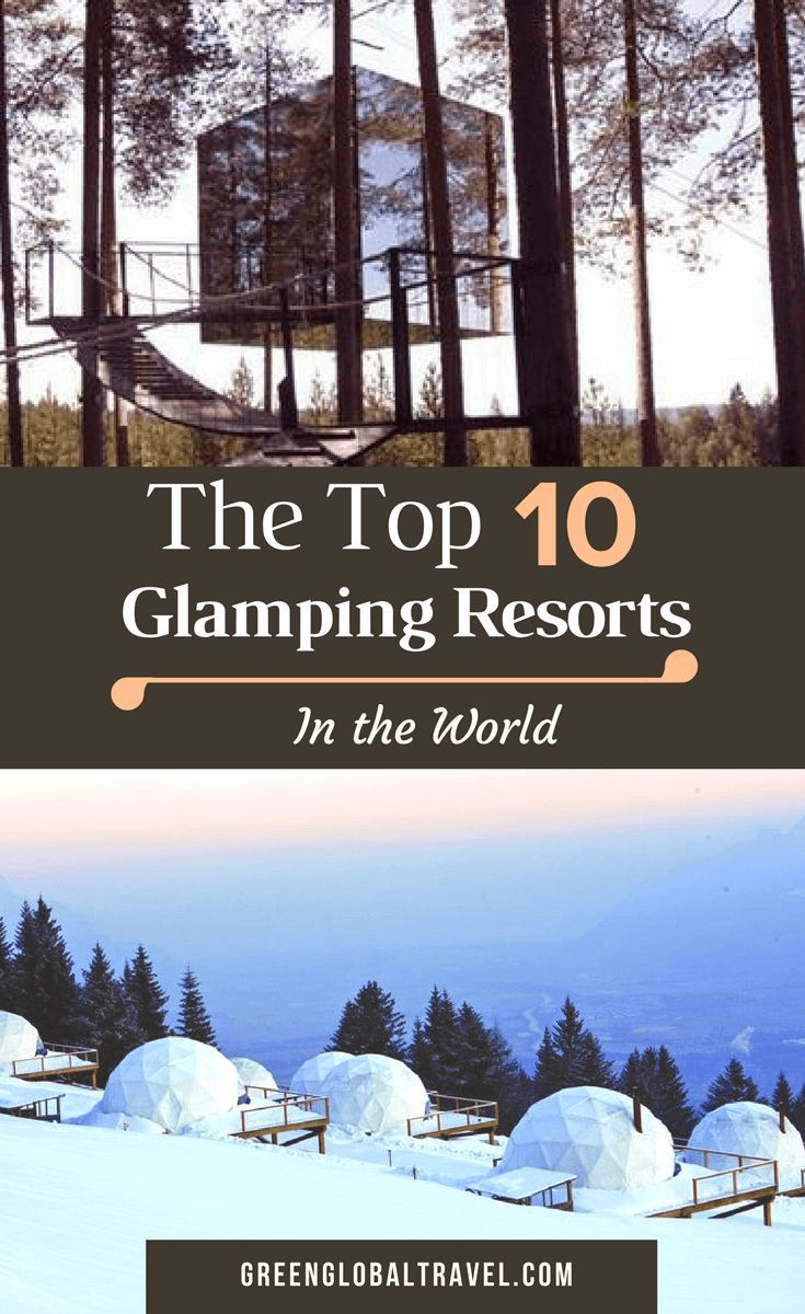 What is Glamping? Our extensive guide includes the history of glamping, and an overview of glamping tents and other glamping ideas. Also, our picks for the world's top glamping resorts, including Clayoquot Wilderness Resort, EcoCamp Patagonia, Ngala Tented Camp, Three Camel Lodge, Sweden's Treehotel & more.