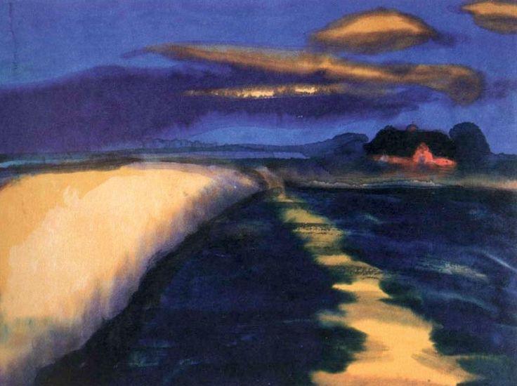 Emil Nolde | Wheat Field, 1900