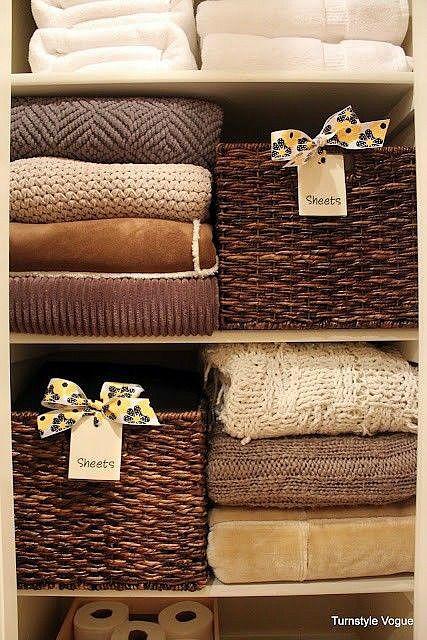 Organizing Your Linen Closet Closet Organization Them