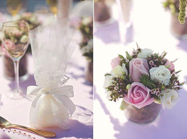 Blush pink wedding decoration by www.StyleConcept.gr ροζ-στολισμος-γαμου