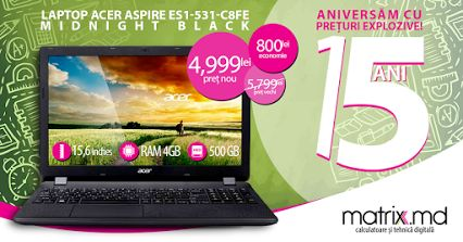Laptop Acer la super pret