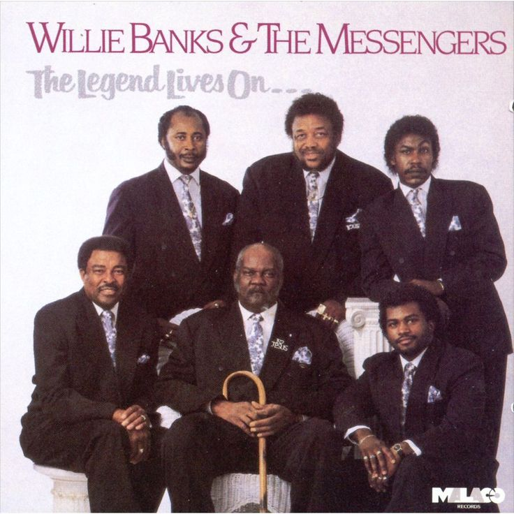 Willie Banks & the Messengers - The Legend Lives On (CD)