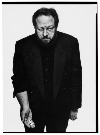 "Ricky Jay photographed by Richard Avedon in New York City, March 4, 1993. Mark Singer wrote of the magician: ""None of my scrutinizing has yielded a shred of insight into how he does what he does."" http://nyr.kr/11nNIH8"