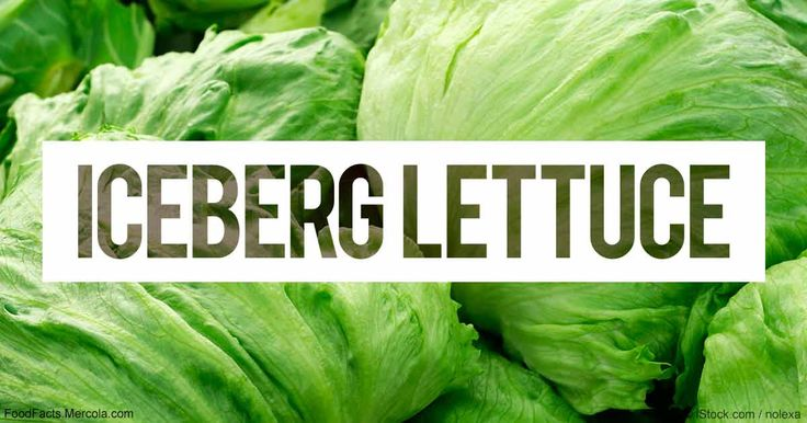 Learn more about iceberg lettuce nutrition facts, health benefits, healthy recipes, and other fun facts to enrich your diet. http://foodfacts.mercola.com/iceberg-lettuce.html?utm_source=dnl&utm_medium=email&utm_content=secon&utm_campaign=20170517Z1_UCM&et_cid=DM143559&et_rid=2010118290