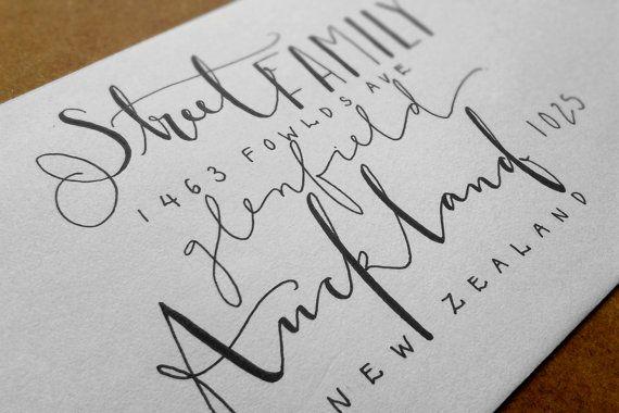 lettering.