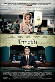 There is an interesting story coming out of CBS this week where the network has refused to air advertisements for Truth by Sony Pictures Classics. The problem is that the film starring Cate Blanche...
