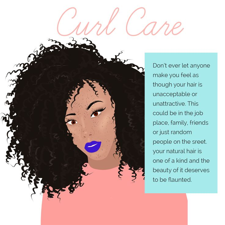 Wear your Curls with Confidence. Curly Hair forever!