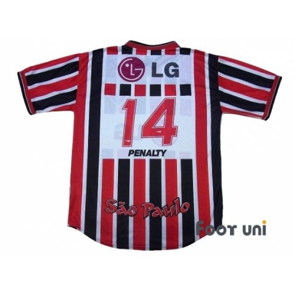 Photo2: Sao Paulo FC 2001-2002 Away Shirt #14 PANALTY - Football Shirts,Soccer Jerseys,Vintage Classic Retro - Online Store From Footuni Japan